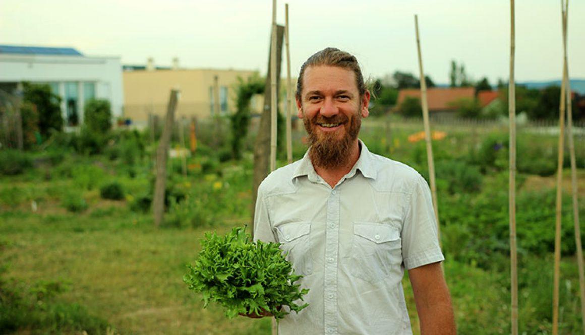 Florian Mörzinger von 'Naturverbundene Gärten'
